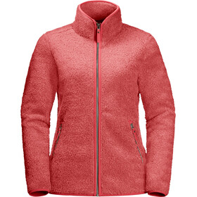 Jack Wolfskin High Cloud Giacca Donna, rosso